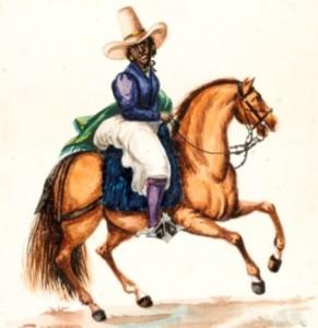 Afro Peruana Caballo