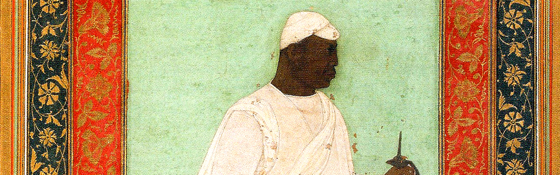 Cropped Malik Ambar Painting