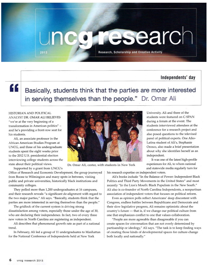 Photo of Research Magazine article